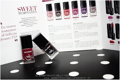 review nails polish sweet temptation collection, polish, lipstick, rossetti , smalti unghie by tns cosmetics