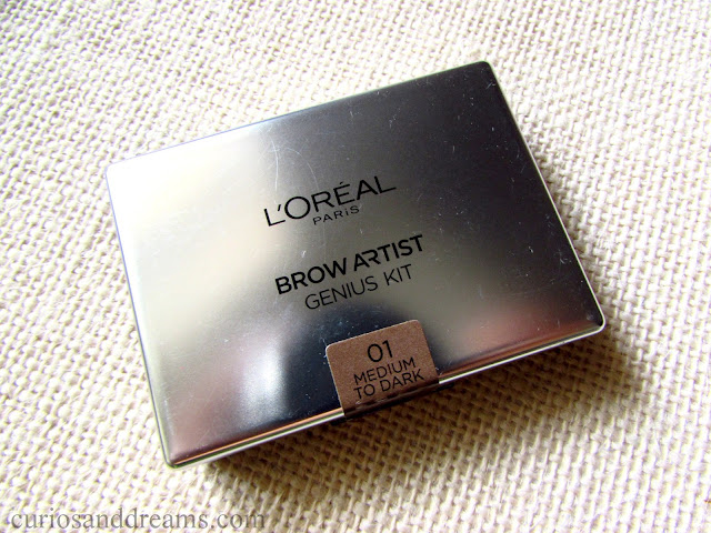 L'Oreal Brow Artist Genius Kit review, L'Oreal Brow Artist Genius Kit medium to dark review