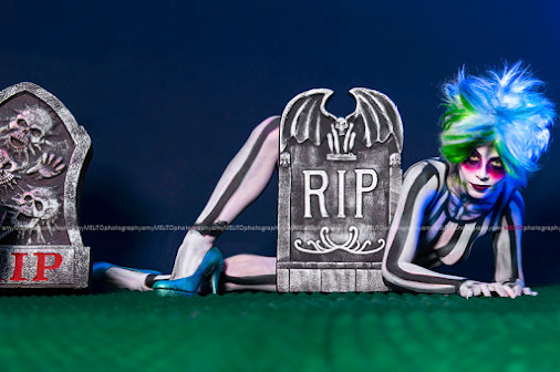 Beetlejuice Themed Photo Project :: San Antonio, Texas