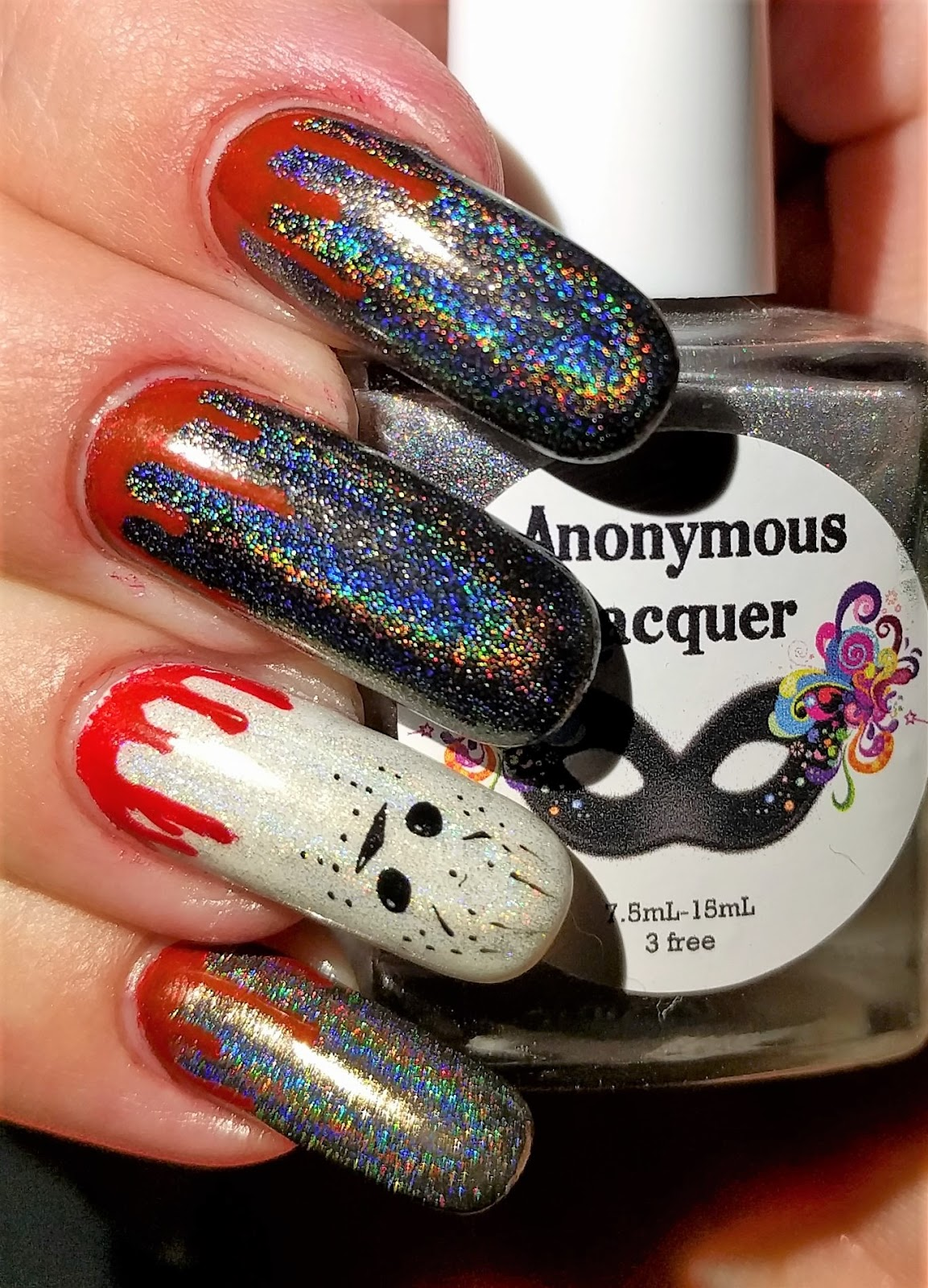 Inky Whisker\'s Musings: 26 Great Nail Art Ideas Presents ~ Friday ...