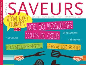 Mon blog dans Saveurs :)