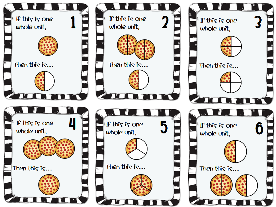 Fractions Vocabulary And Freebies Third Grade Doodles
