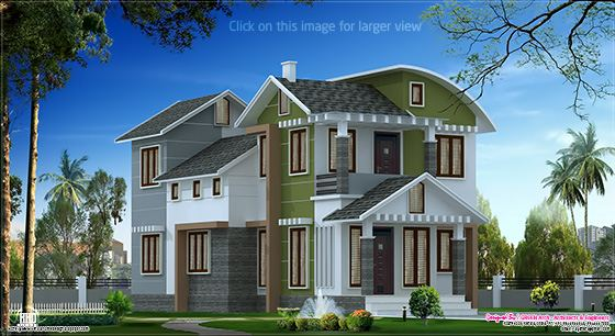 cute villa design