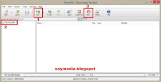 Cara Termudah Burning File/Video Menggunakan Power Iso