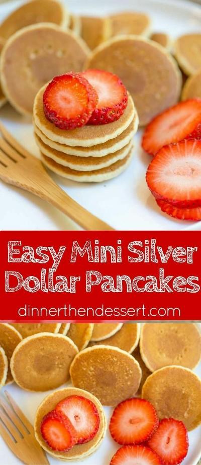 Easy Mini Silver Dollar Pancakes. Foto: dinnerthendessert.com