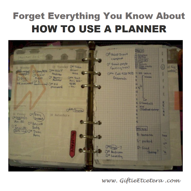 planner, graph paper, daily docket
