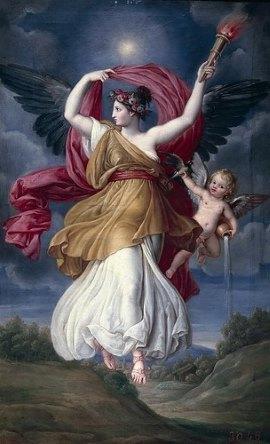 Подборка живописи Богиня утренней зари Аврора