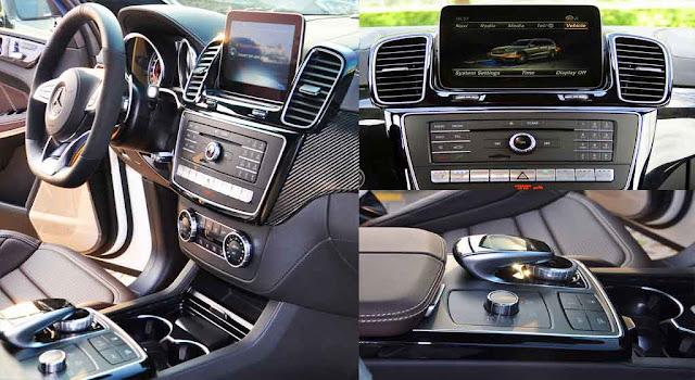 Tựa tay Mercedes AMG GLS 63 4MATIC 2019 được thiết kế nổi bật với rất nhiều tiện ích