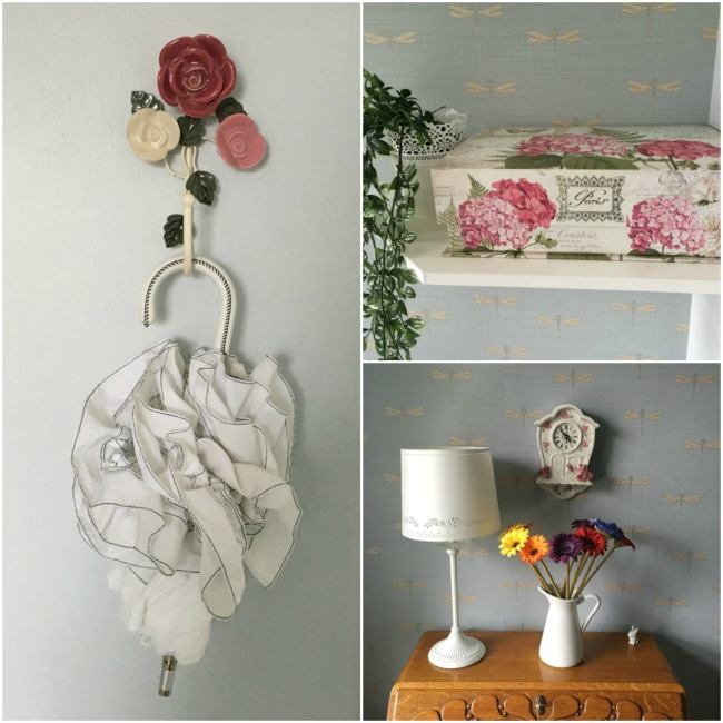 using-flowers-in-your-home-collage-flower-hook-floral-box-floral-clock-and-gerberas-on-bureau