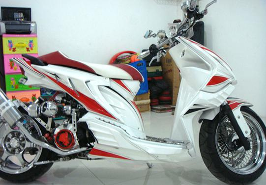 Gambar Modifikasi Honda Beat Terbaru