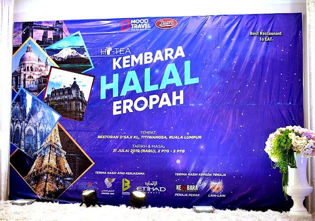 KEMBARA HALAL EROPAH