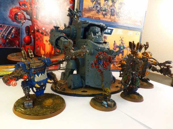 40k orks a mek and his toys 3