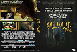 Feral - Salvaje - Cover DVD