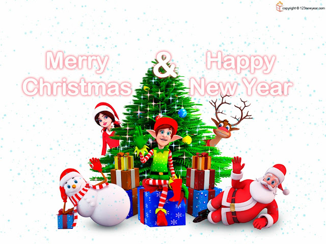 Merry Christmas Wishes with Quotes and Sayings HD Wallpapers for Facebook (Animated GIF Wallpapers )