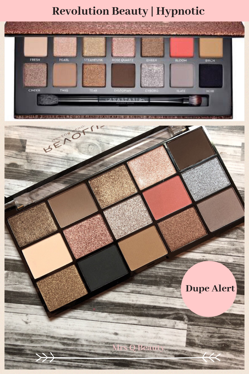 Makeup Revolution Beauty Reloaded Hypnotic Palette Review And