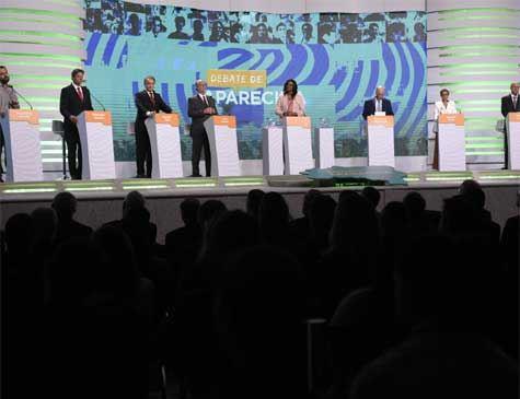 Sem Bolsonaro, Haddad foi o alvo preferencial no debate da TV Aparecida