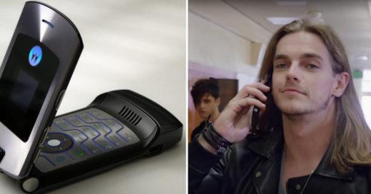 Regresa renovado el legendario Motorola RAZR flip