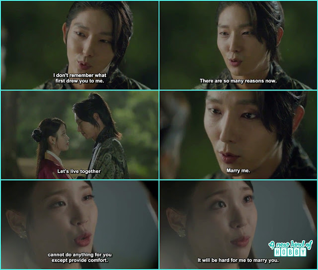 wang so proposed hae so but she refused  - Scarlet Heart Ryeo - Episode 18 (Eng Sub)