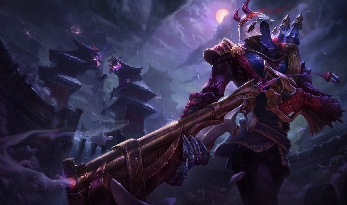 Image result for blood moon jhin