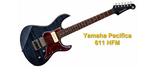 Guitarra Eléctrica con Pastilla Seymour Duncan P-90 y Humbucker Yamaha Pacifica 611HFM