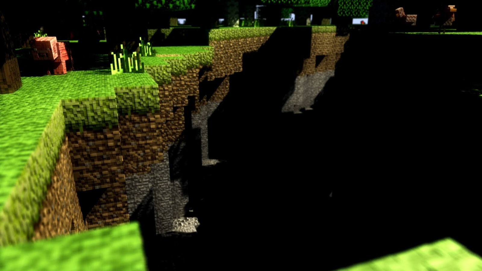 3d Minecraft Wallpaper Wallpapers Gallery