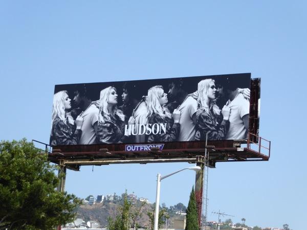 Hudson Jeans Fall 2016 billboard