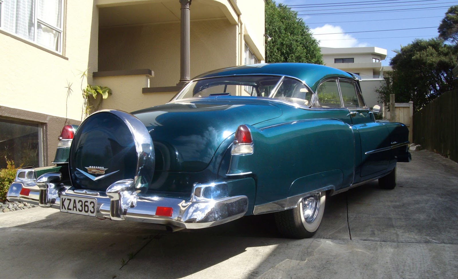 Transpress Nz 1951 Cadillac Coupe Deville Series 62