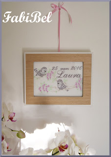 birthday gift customized embroidery frame