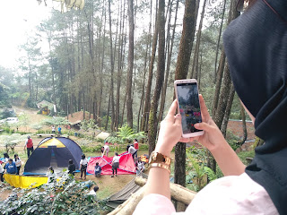 Suasana Camping Ground Kampung Rimba