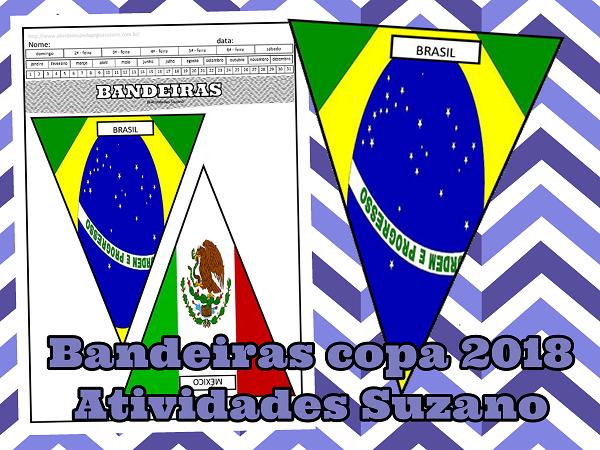 BANDEIRAS DA COPA