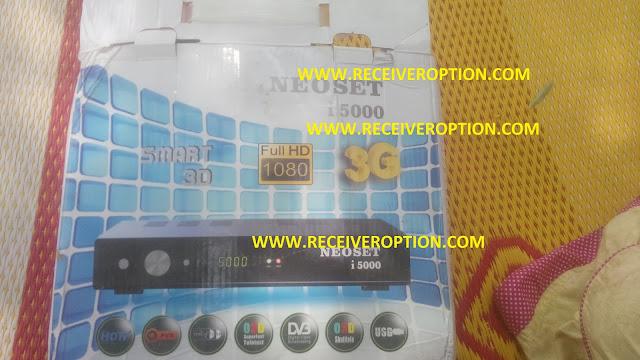NEOSET I 5000 HD RECEIVER POWERVU KEY OPTION