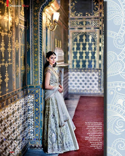 Aditi Rao Hydari wears Anita Dongre Creation for Hello India Magazine April 2016