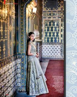 Aditi Rao Hydari wears Anita Dongre Creation for Hello India Magazine April 2016