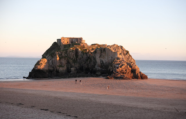 Castle beach Tenby