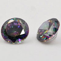 Natural Mystic White Topaz Gemstones