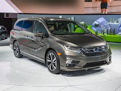 Gambar Honda Odyssey 2018