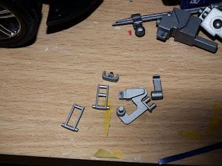 Painted inner leg working of the Ingram 2