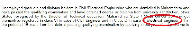 electrical unemployed engineer pwd contractor registration