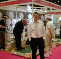 At the International Direct Marketing Fair at Earl's Court way back in 2007