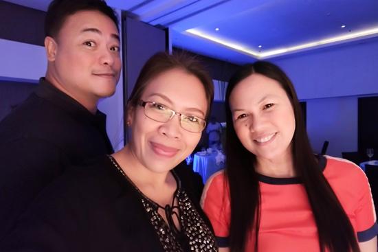 With M Magazine Editor, Ian Garcia and Daily Mirror Lifestyle Columnist, Maya Padillo