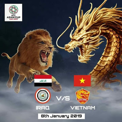 Live Streaming Iraq vs Vietnam AFC 2019 (8.1.2019)