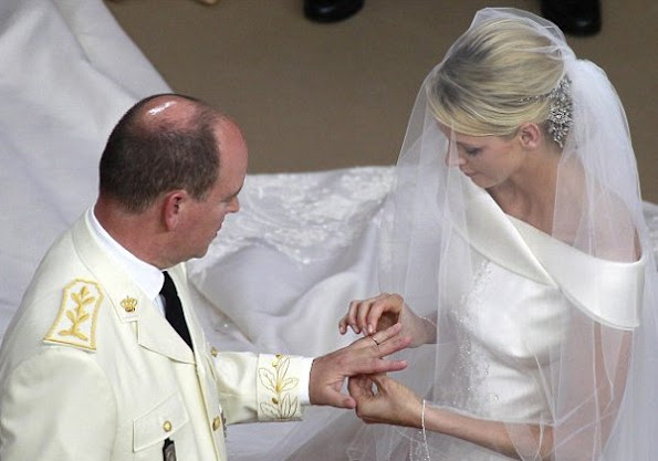Happy 5th wedding anniversary to Prince Albert and Princess Charlène of Monaco. Princess Gabriella, Prince Jacques