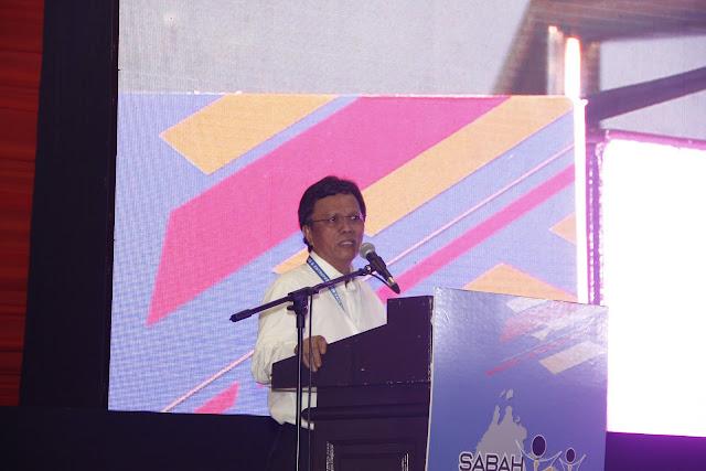 Closing ceremony; Sabah Job & Entrepreneur Fair 2018 @ Kompleks Sukan Kota Kinabalu (Likas)