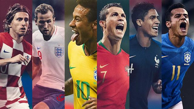 شركة نايكي تعلن رسميا عن صدور اطقم كاس العالم 2018 لمعظم المنتخبات