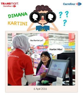 Temukan Orang Bernama Kartini dan Menangkan Voucher 250 ribu