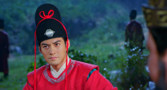 ep 1 scene from popular cdrama Three Heroes and Five Gallants starring Yan Kuan