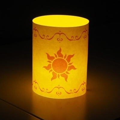 Disney Tangled Papercraft Lantern