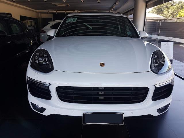 Porsche Cayenne S e-Hybrid - Brasil