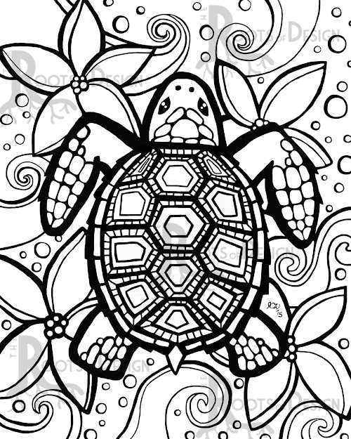 Turtles Coloring Pages Free Top  Printable