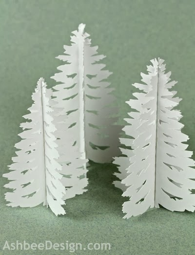 Cutting Files For These Trees Are Part Of Every File I Have Designed These Differently Than Others Trees Because They Are So Tiny